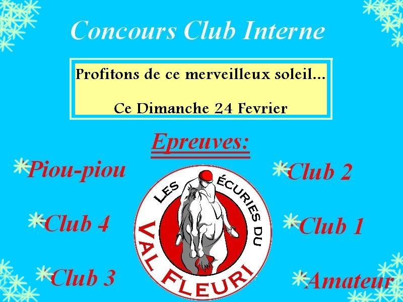 Concours Club Interne